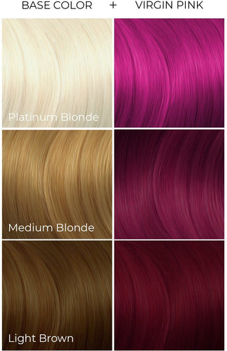 Virgin Pink | HAIR COLOUR [118ml]