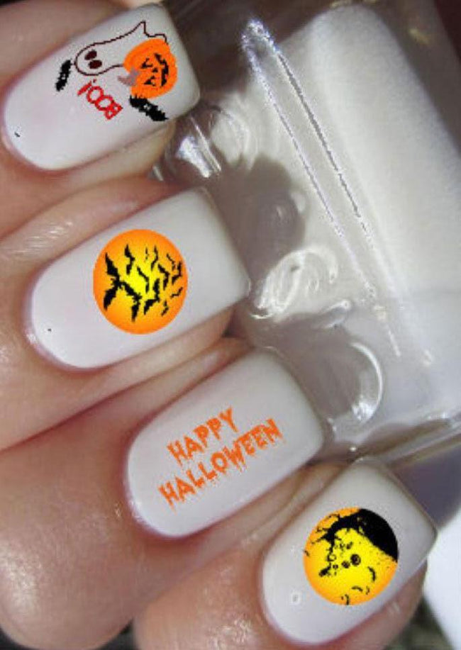 Happy Halloween | NAIL DECALS*