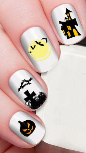 Haunted House | NAIL DECALS*