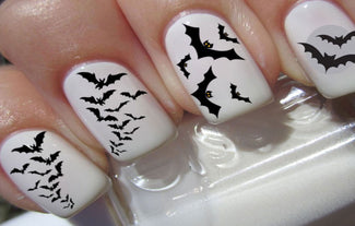 Midnight Bats | NAIL DECALS
