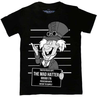 Mad Hatter Mug Shot | T-SHIRT UNISEX