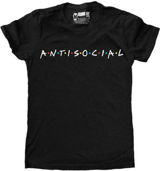 Antisocial | T-SHIRT [LADIES]