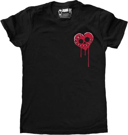 Bleeding Heart Logo | FITTED T-SHIRT