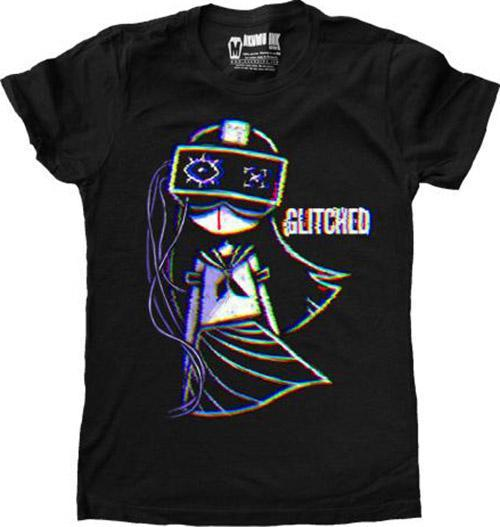 Glitched | FITTED T-SHIRT
