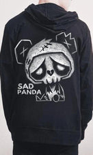 Sad Panda [Fleece] | ZIP-UP HOODIE