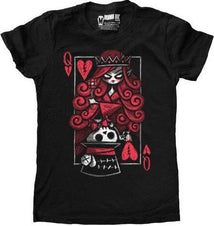 The Upside Down Hatter | FITTED T-SHIRT