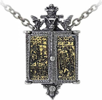 Balkan Triptych Icon | LOCKET PENDANT