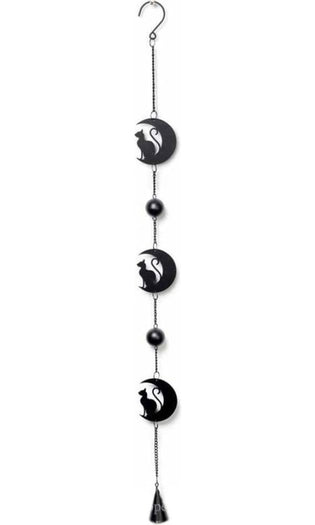 Black Cat and Moon | HANGING DECORATION
