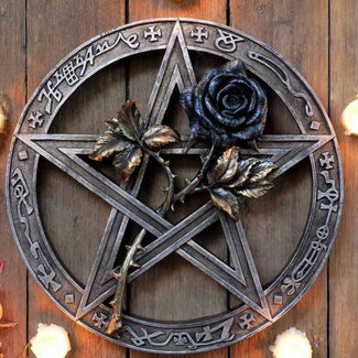 Black Rose | WALL MOUNT/ALTAR PIECE