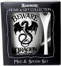 Dragon Is Stirring | MUG AND SPOON SET
