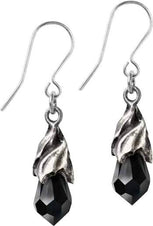 Empyrean Tear [Black] | EARRINGS