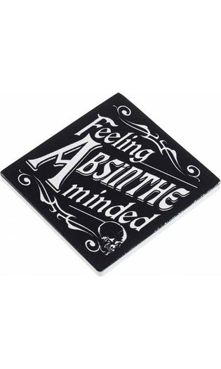 Feeling Absinthe Minded | CERAMIC COASTER