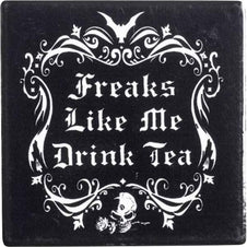 Freaks Like Me Drink Tea | COASTER