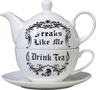 Freaks Like Me Drink Tea | SET*