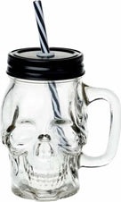 Glass Skull | DRINKING JAR