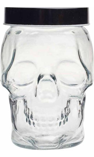 Glass Skull | STORAGE JAR