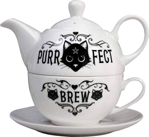 Purrfect Brew | TEA SET