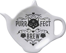 Purrfect Brew | TEABAG DISH