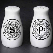 'S' & 'P' | SALT & PEPPER SET