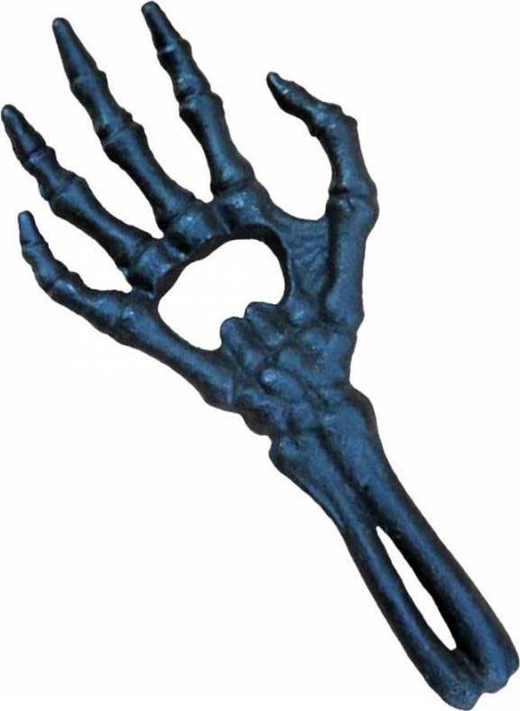 Skeletal Hand [Black] | BOTTLE OPENER