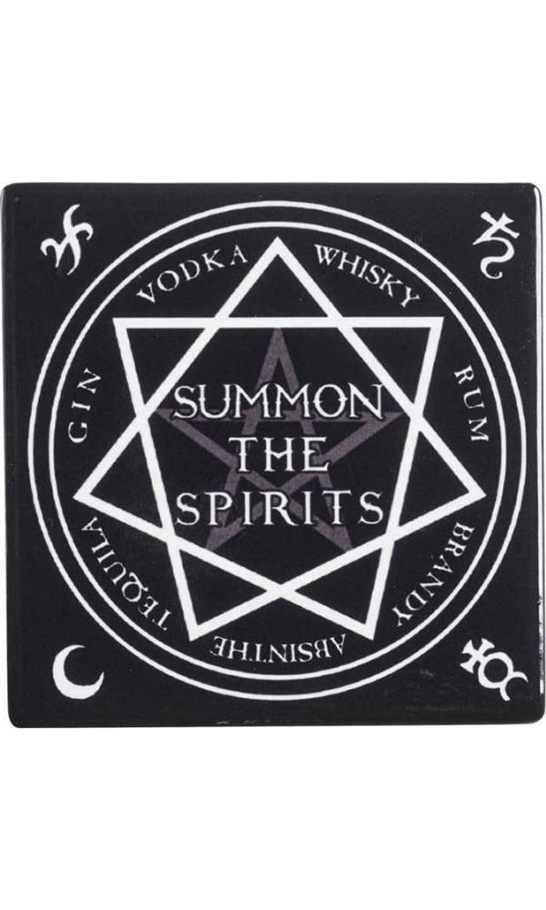 Summon The Spirits | CERAMIC COASTER