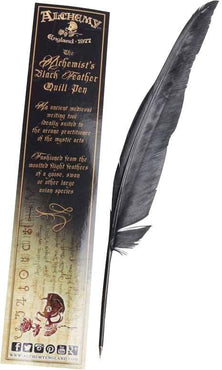 The Alchemist's Black | FEATHER QUILL PEN