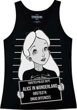 Alice In Wonderland - Mug Shot Singlet