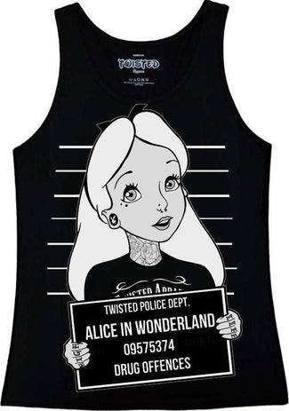 Alice In Wonderland Mugshot | SINGLET