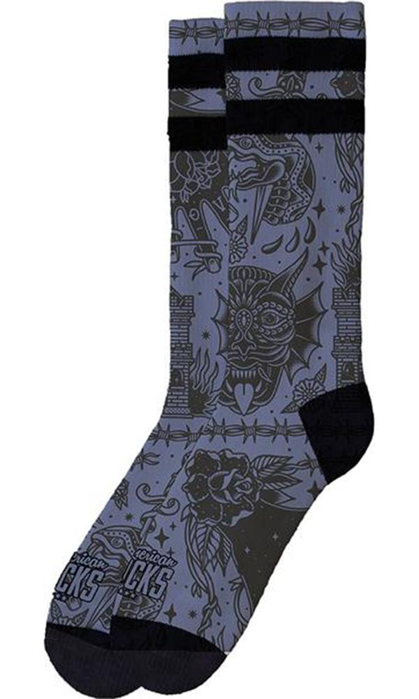 Snake Eater | MID HIGH SOCKS
