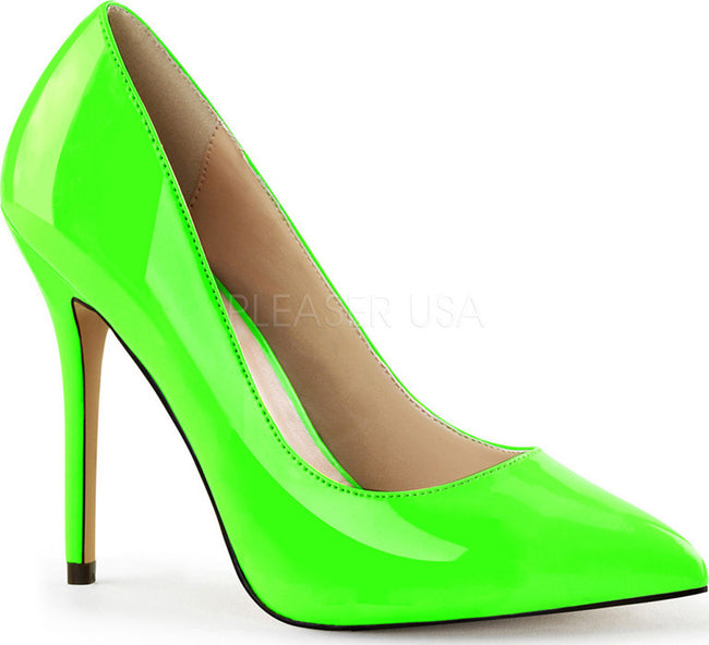 AMUSE-20 Neon Green Pat