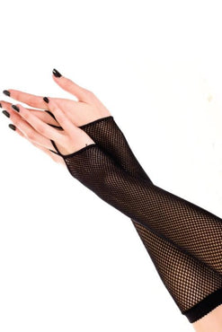 Fishnet With Finger Loop | ARMWARMERS