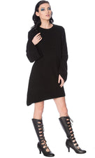 Black Magma | SWEATER DRESS
