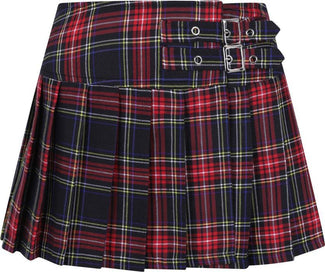 Black Tartan | MINI SKIRT