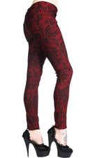 Cross Cameo [Burgundy] | PANTS