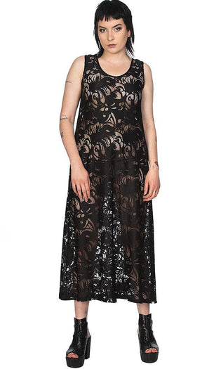 Doomed Romantic Long Line Lace | DRESS