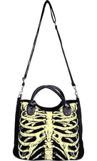 Glow In The Dark Skeleton | SHOULDER BAG^