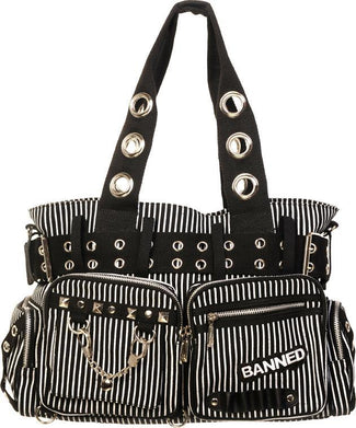 Handcuff Striped | HANDBAG