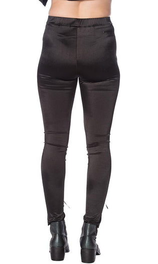 Lace Up Lycra | LEGGINGS