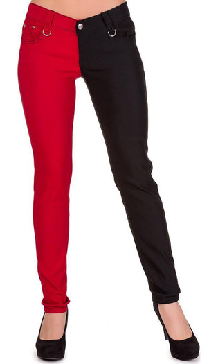 Night After Night [Black/Red] | JEANS
