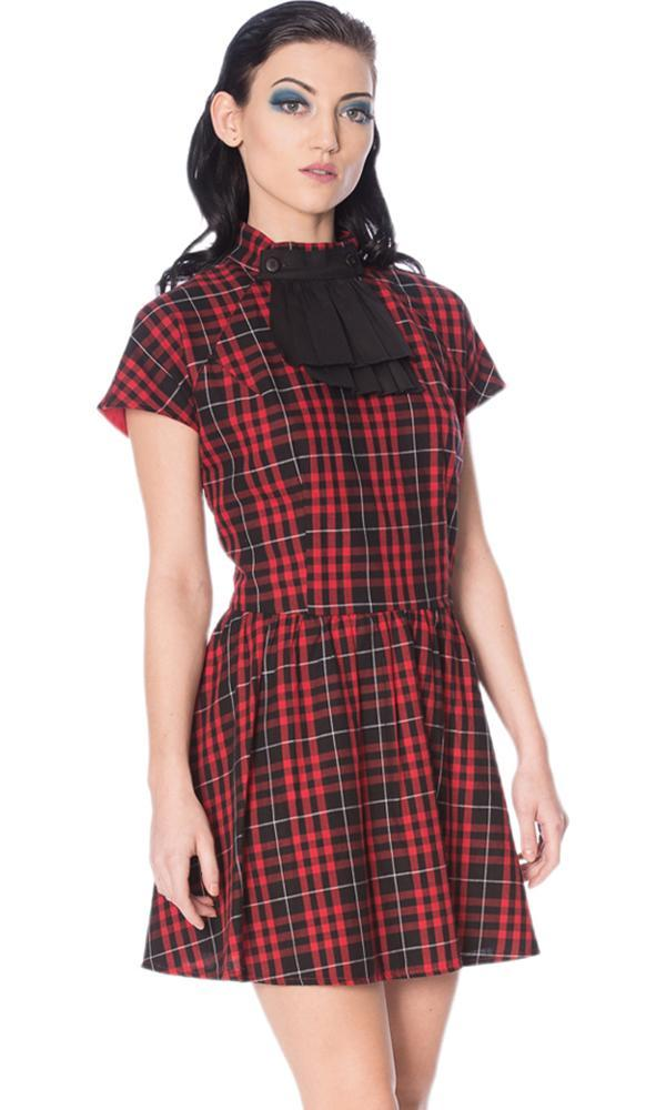 Smash It Up Jabot Red | DRESS