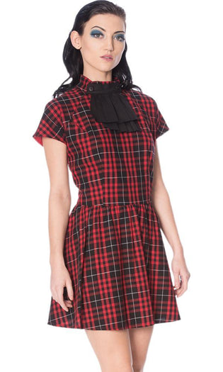 Smash It Up Jabot Red | DRESS*