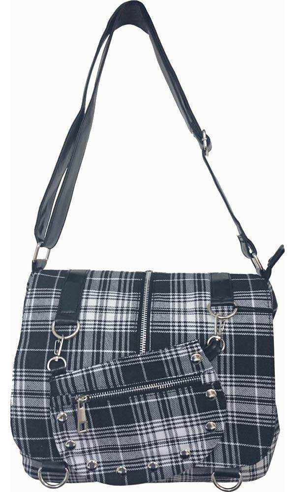 Tartan [White] | MESSENGER BAG