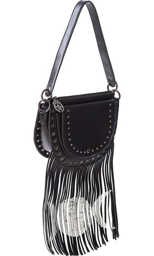 Valonia Triple Moon | FRINGE BAG