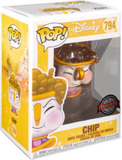 Beauty And The Beast | Chip With Bubbles POP! VINYL [RS]