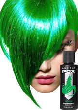 Iris Green Hair Colour