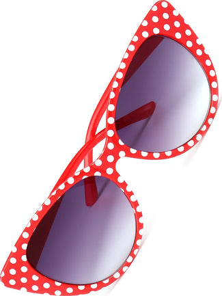 Dotty [Red & White] | SUNGLASSES*