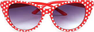 Dotty [Red & White] | SUNGLASSES