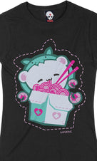 Koala-Chan [Pink/Teal] | FITTED T-SHIRT