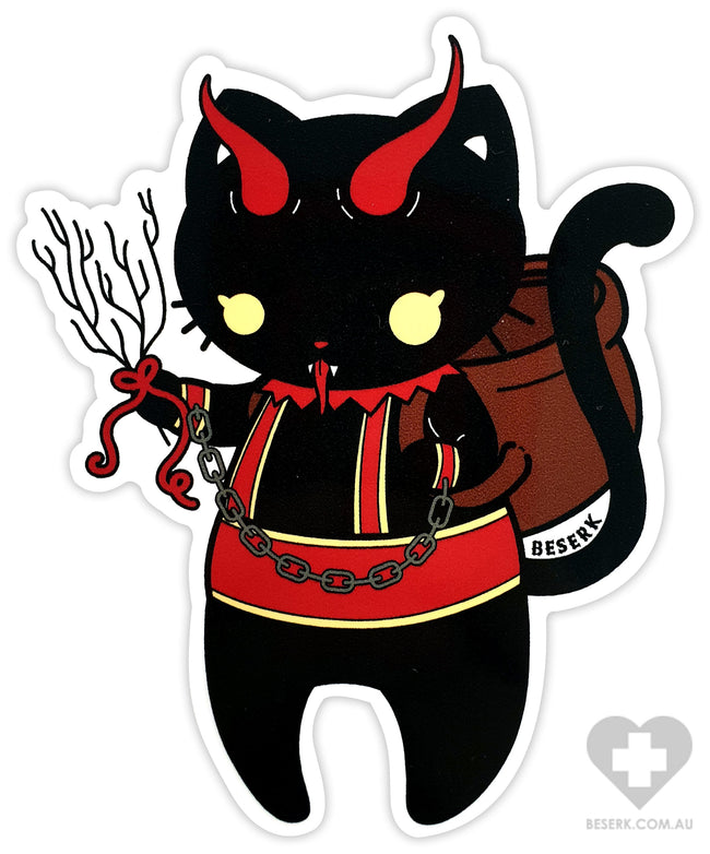 Krampus Kitty | VINYL STICKER
