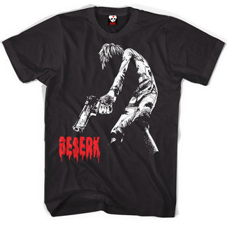 Beserk Shot Down T-shirt